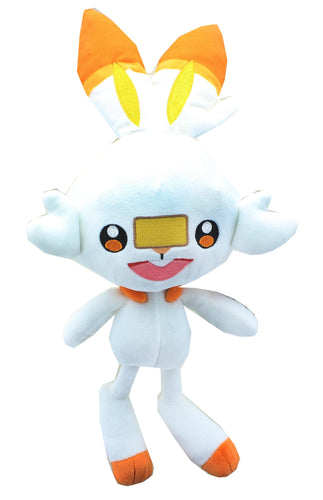 Pokémon Sword & Shield 8 Inch Collectible Plush | Scorbunny