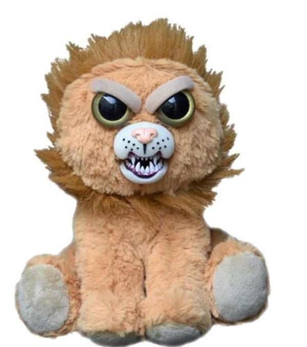 "Feisty Pets Marky Mischief 8.5"" Plush Lion"