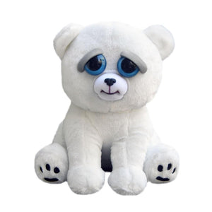 "Feisty Pets 8"" Plush, Karl The Snarl Polar Bear"