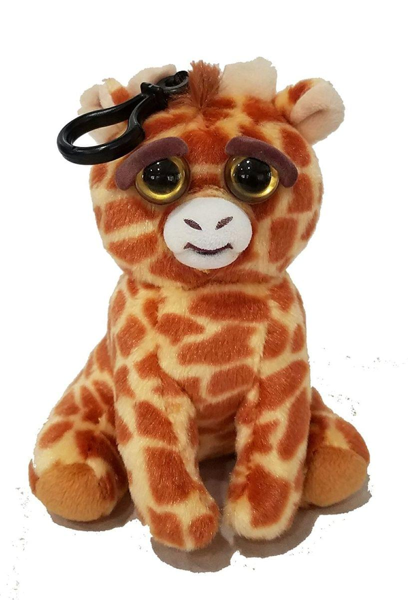 "Feisty Pets 8"" Tongue Out Plush Bundle: Giraffe (Baby & Mom)"