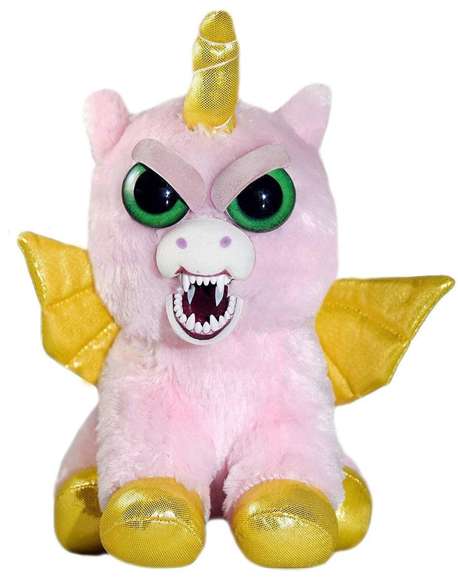 Feisty Pets 8-Inch Plush - Ali Cornball the Winged Unicorn