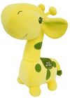 "Prime Plush 7"" Stuffed Animal Giraffe with Green Spots"