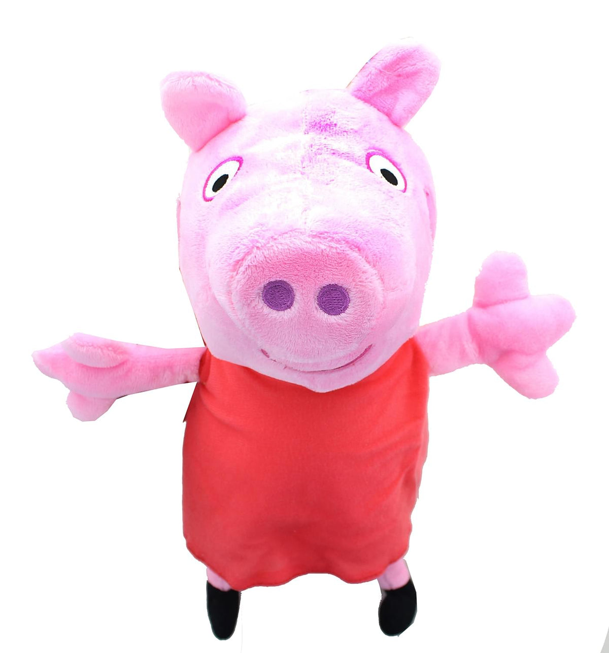 Peppa Pig In Red Dress 13.5 Inch Character Plush