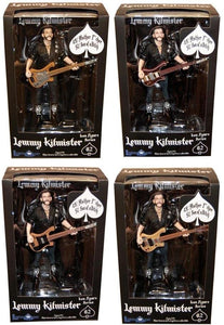 Motorhead Lemmy Kilmister Deluxe Action Figure Case Of 8