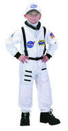 Jr Astronaut Suit (White) W/Cap Child Costume 6-8