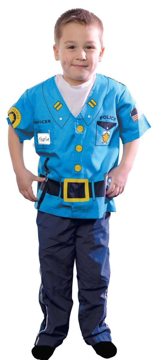 My 1st Career Gear Police Shirt Costume Child Toddler