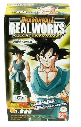 Dragon Ball Z Goku Real Works Trading Figure