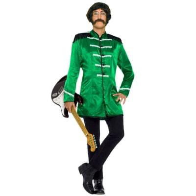 British Explosion Green Adult Costume