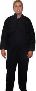 Black Swat Police Jumpsuit Costume Adult Extra Large