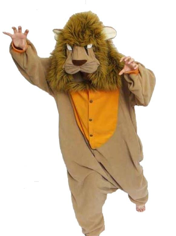 Lion Kigurumi Cushzilla Animal Adult Anime Costume Pajamas