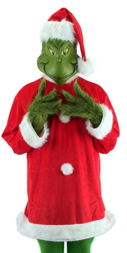 Grinch Who Stole Christmas: Santa Grinch Adult Costume
