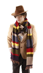 Dr. Who Deluxe 12' Scarf Officially Licensed