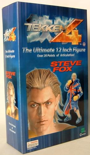 "Tekken 4 Series 1 12"" Figure Steve Fox"