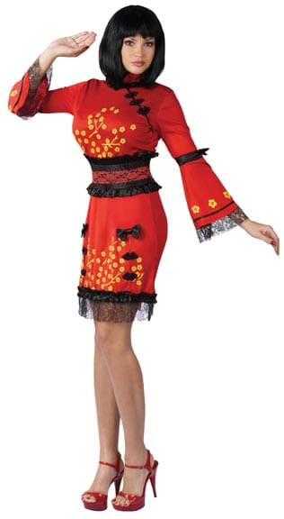 China Doll Costume Adult