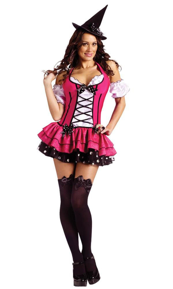 Sexy Sugar & Spice Witch Costume Adult Small 6-8