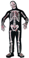 Bloody Skelebones Costume Adult
