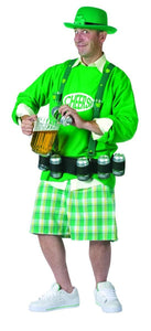 Cheers N Beers Party Leprechun Costume Adult One Size Fits Most