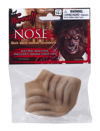Prosthetic Werewolf Nose Costume Accessory
