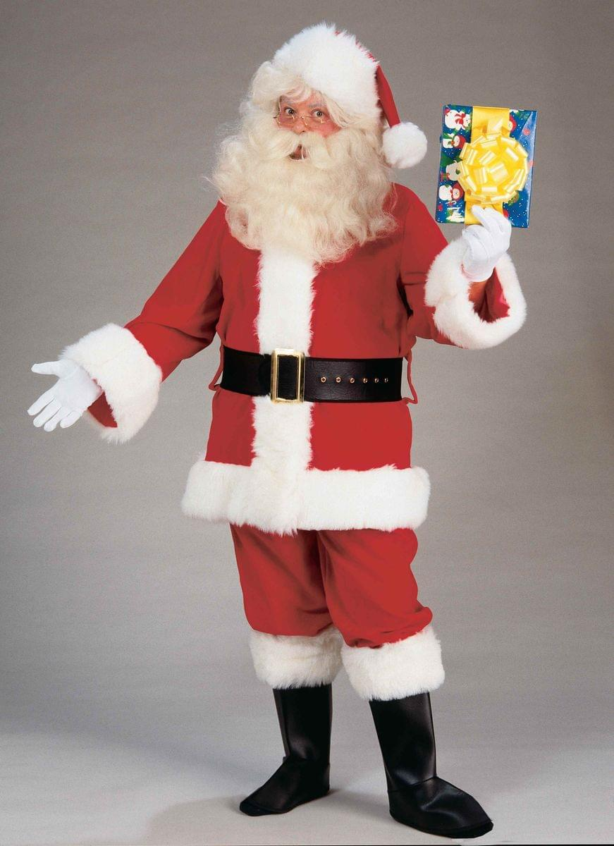 Santa Claus Adult Value Costume Suit Standard