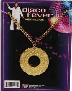Disco Fever Costume Medallion