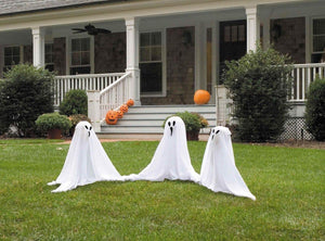 Ghostly Group Outdoor Halloween Prop Decoration 3 Per Set
