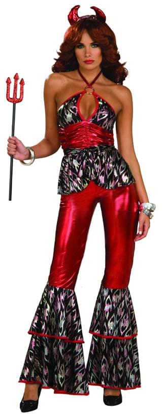 Disco Devil Diva Adult Costume