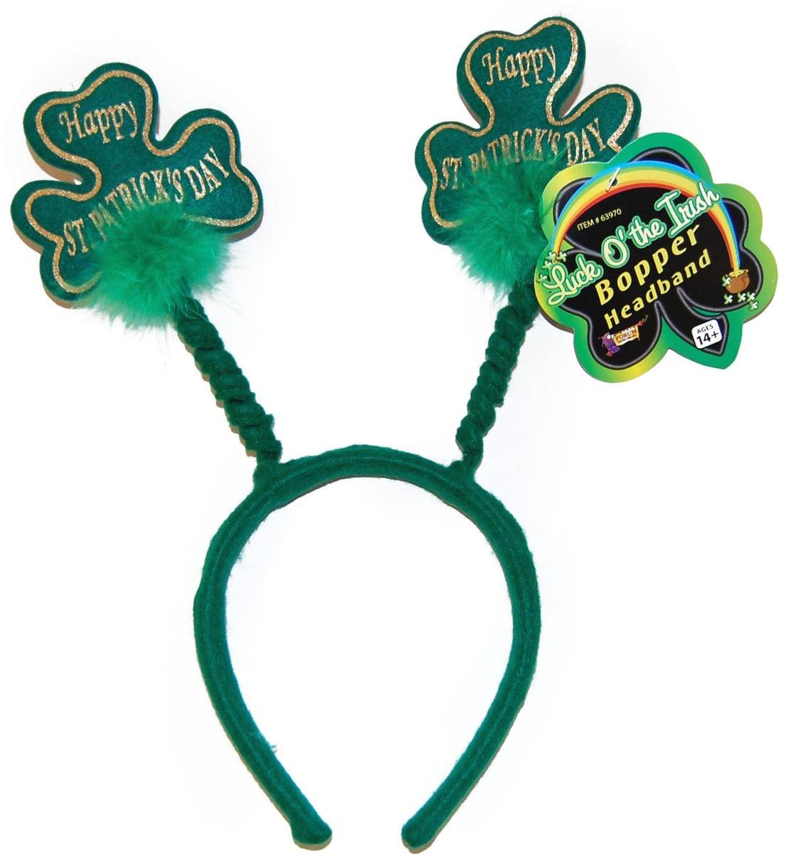 Happy St Patricks Days Costume Headband