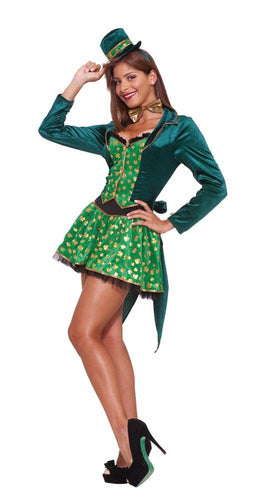 Sexy Leprechaun Lady Costume Adult
