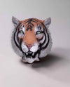 Deluxe Tiger Animal Adult Latex Costume Mask