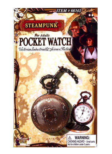 Steampunk Pocket Watch Adult Costume Accessory