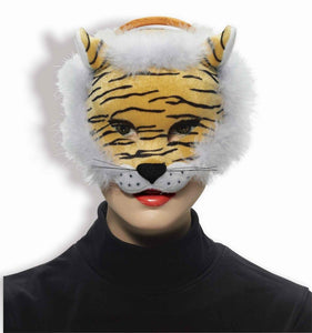 Deluxe Plush Animal Costume Mask - Tiger