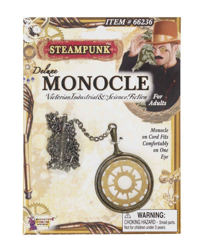 Steampunk Deluxe Monocle Eyewear Adult Costume Accessory