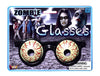 Zombie 3-D Glasses Costume Eyewear Accessory
