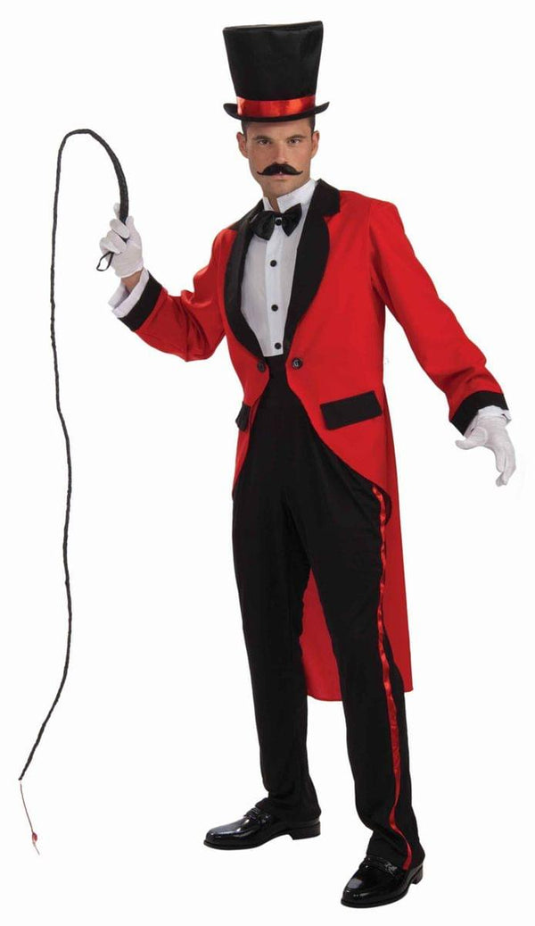 Circus Ring Master Tailcoat Costume Adult