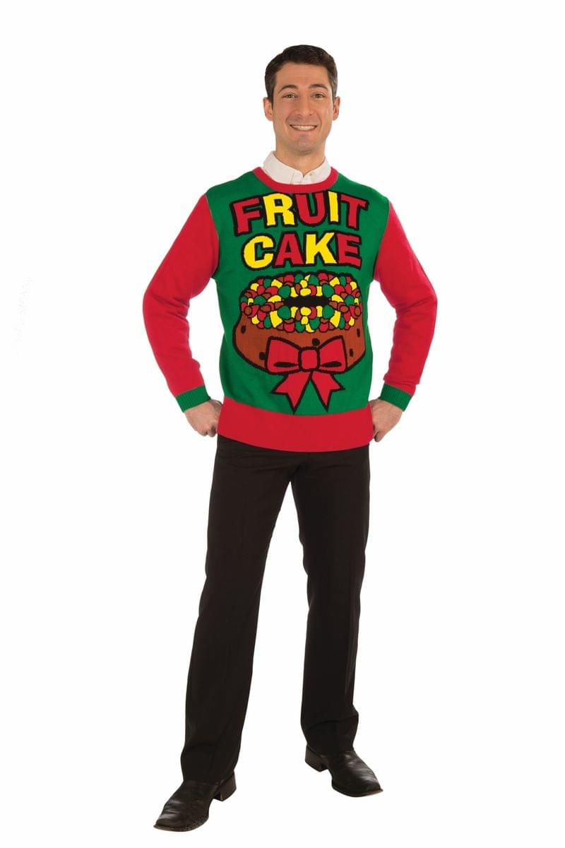 Fruit Cake Ugly Christmas Sweater Adult Large
