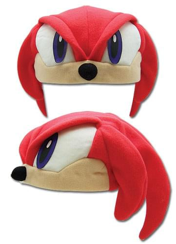 Sonic The Hedgehog Knuckles Fleece Hat