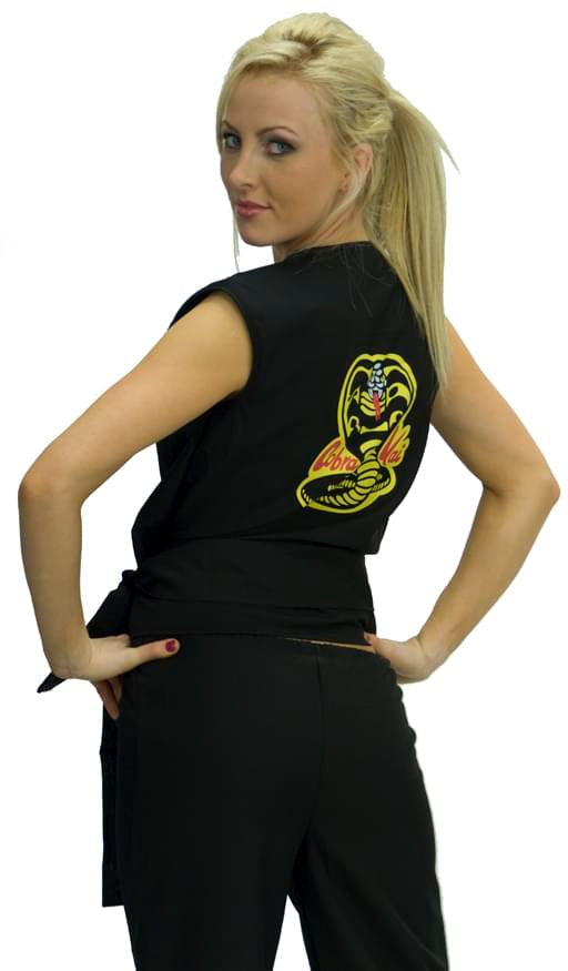 Karate Kid Cobra Kai Women's Sexy Costume GI Adult