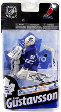 Load image into Gallery viewer, McFarlane NHL Series 24 Figure Jonas Gustavsson Toronto Maple Leafs