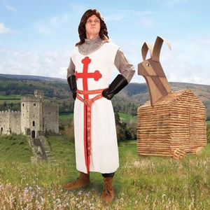 Monty Python Sir Galahad Tunic Adult Costume Large/X-Large