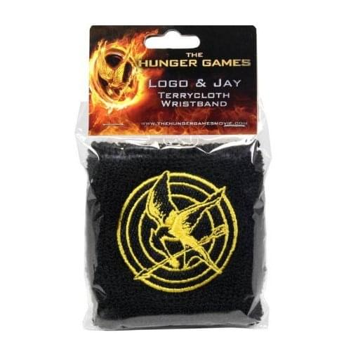 The Hunger Games Movie Wristband Terrycloth