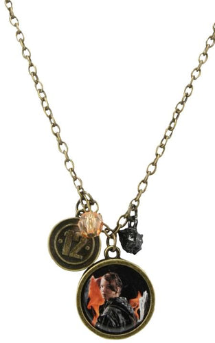 The Hunger Games Movie Necklace Single Chain