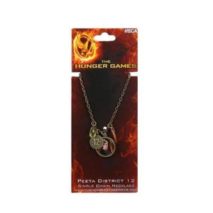 "The Hunger Games Movie Necklace Single Chain ""Peeta Distri"