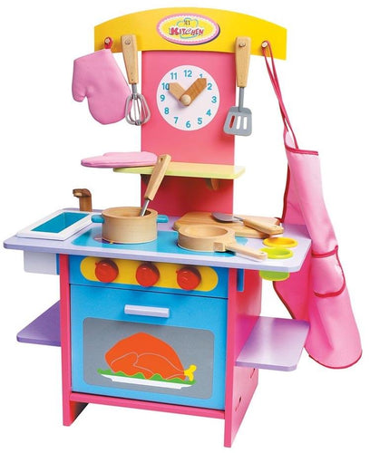 Deluxe Wooden Kitchen Playset
