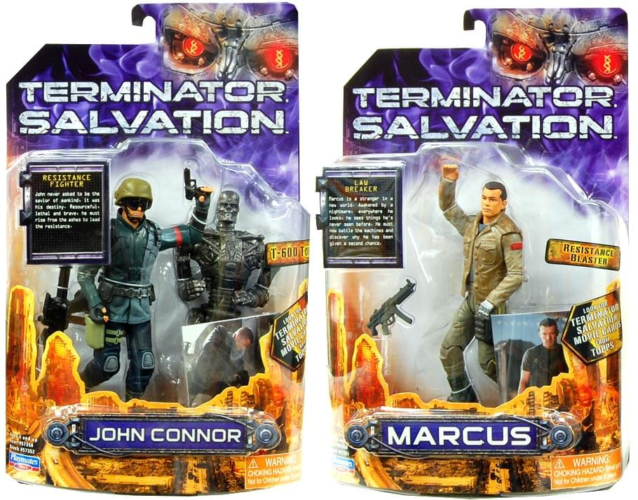 "Terminator 4 Salvation Case Of 12 6"" Human Figure"