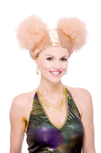 Sweetie Poof Blonde Adult Costume Wig