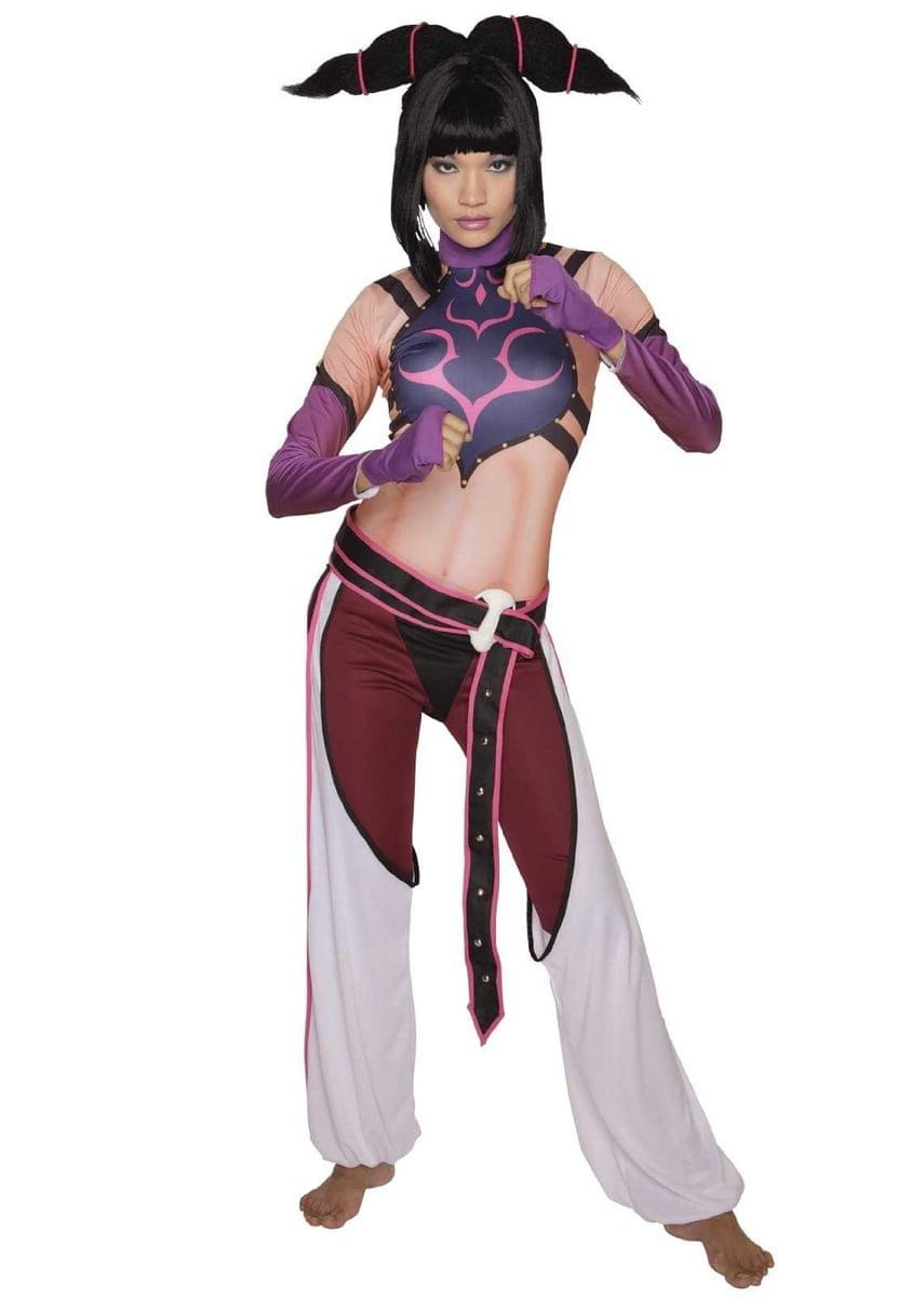Street Fighter Juri Costume Adult Womens Large 12-14