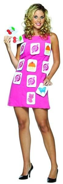 Memory Match Game Dress Costume Adult