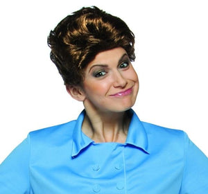 Brady Bunch Tv Show Brown Adult Female Costume Wig - Alice The Maid