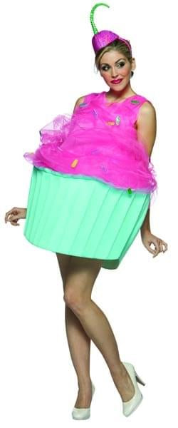 Sweet Eats Cupcake Costume Adult