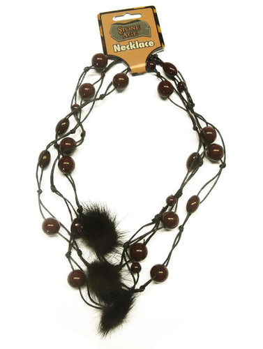Caveman Woman Stone Age Barbarian Adult Costume Necklace
